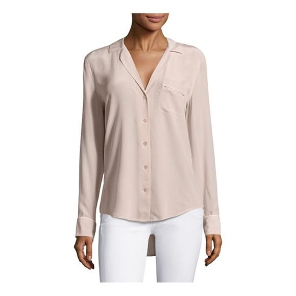 f3710af84f7ff7 Equipment Tops - Equipment Keira Silk Shirt